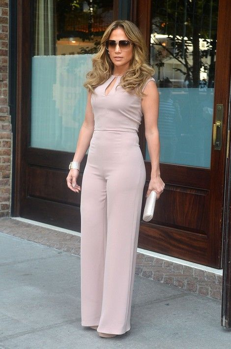 a sheath blush jumpsuit with a cutout is all you need to impress showing off your figure