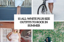 15 all-white plus size outfits to rock in summer cover