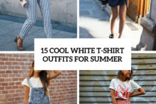 15 cool white t-shirt outfits for summer cover