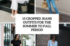15 cropped jeans outfits for the summer to fall period cover