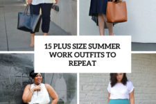 15 plus size summer work outfits to repeat cover