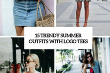 15 trendy summer outfits with logo tees cover