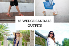 18 Awesome Outfits With Wedge Sandals