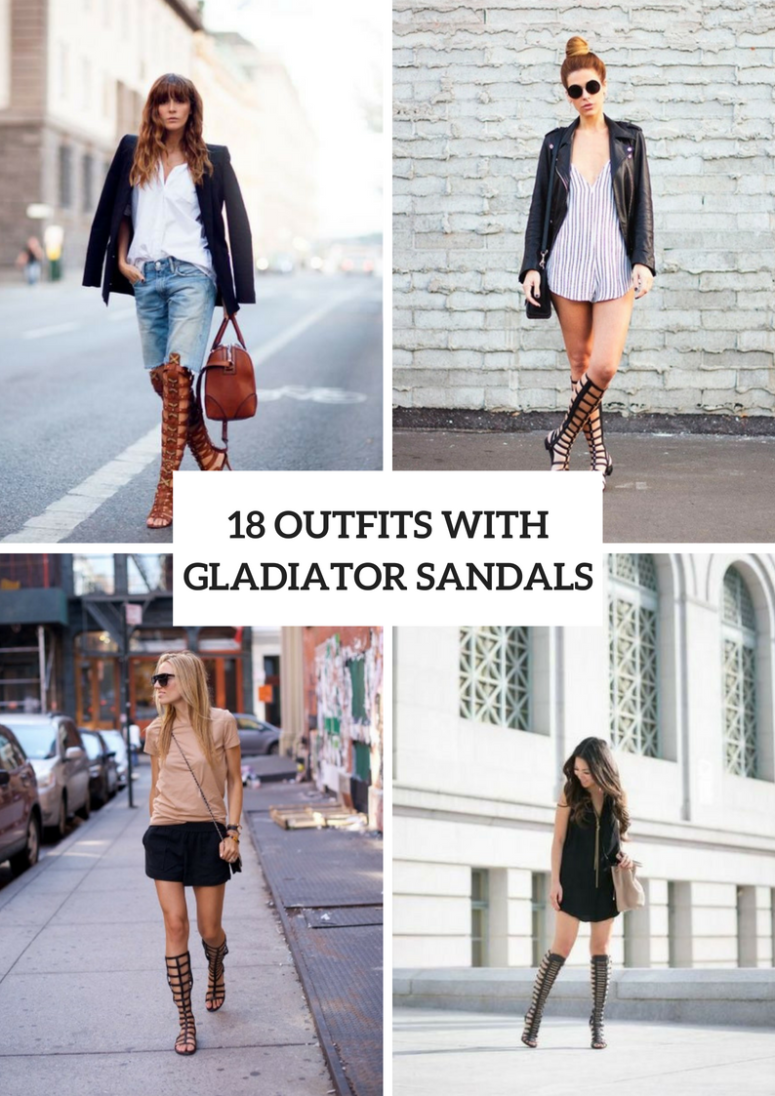 18 Outfit Ideas With Gladiator Sandals For Women