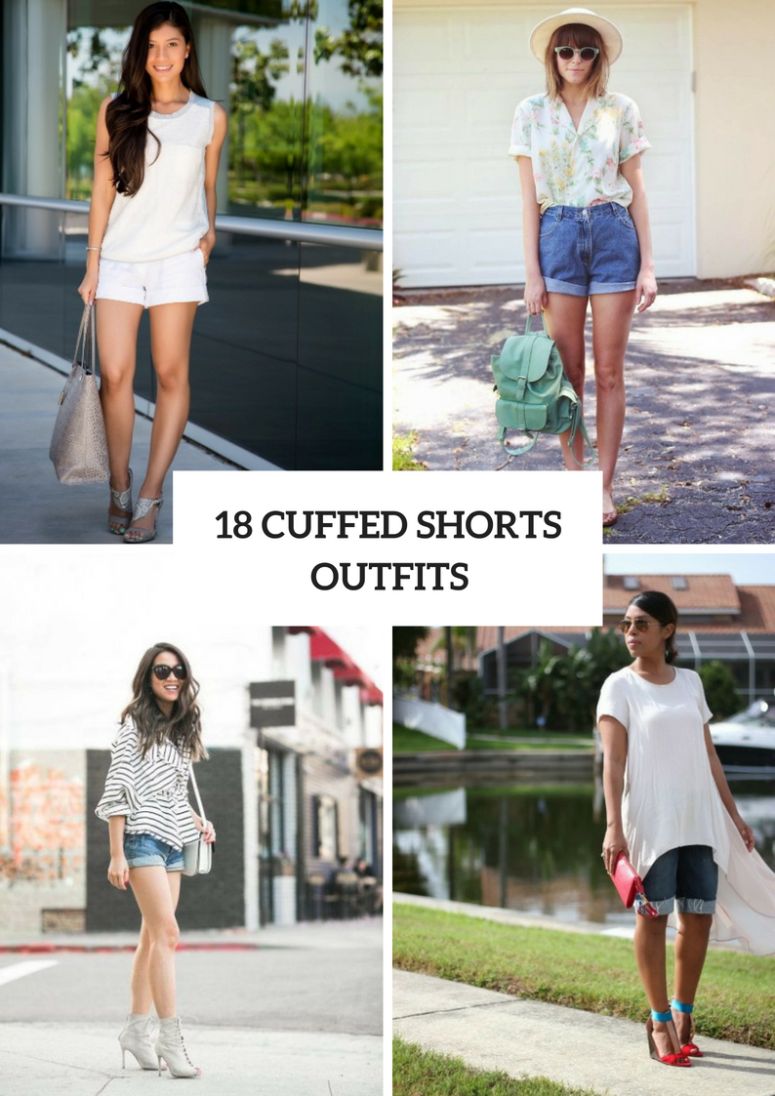 Wonderful Outfits With Cuffed Shorts