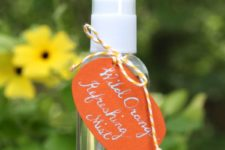 DIY face mist with refreshing essential oils