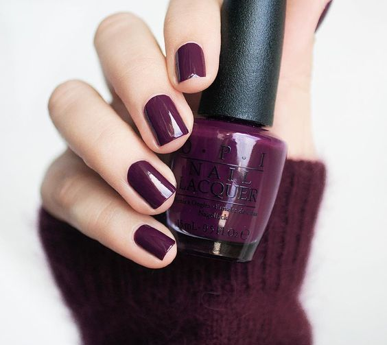 a more muted shade of purple is very fall-like and will add color