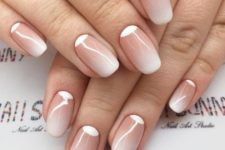 03 a reverse French manicure with an ombre touch is a very subtle option