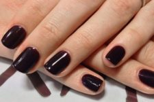 13 burgundy to chocolate manicure is fall classics that is ideal for those who love darker shades