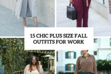 15 chic plus size fall outfits for work cove