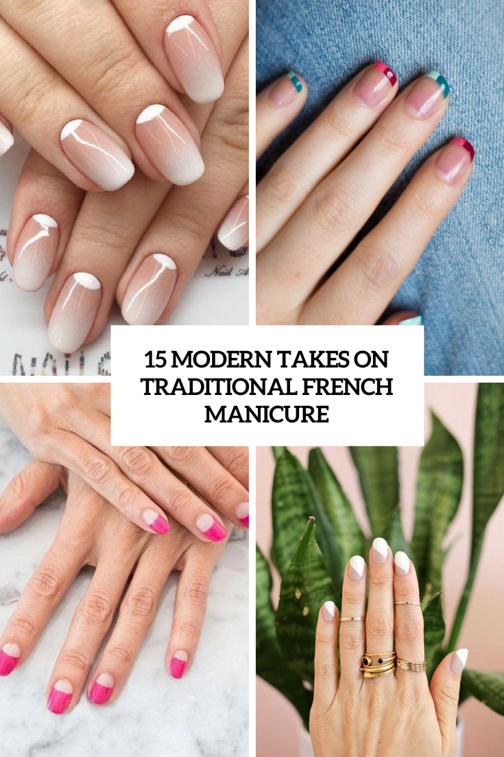 modern takes on traditional french manicure cover
