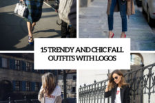 15 trendy and chic fall outfits with logos cover