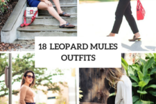 18 Awesome Outfits With Leopard Mules