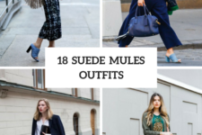 18 Outfits With Suede Mules For Fashionable Women