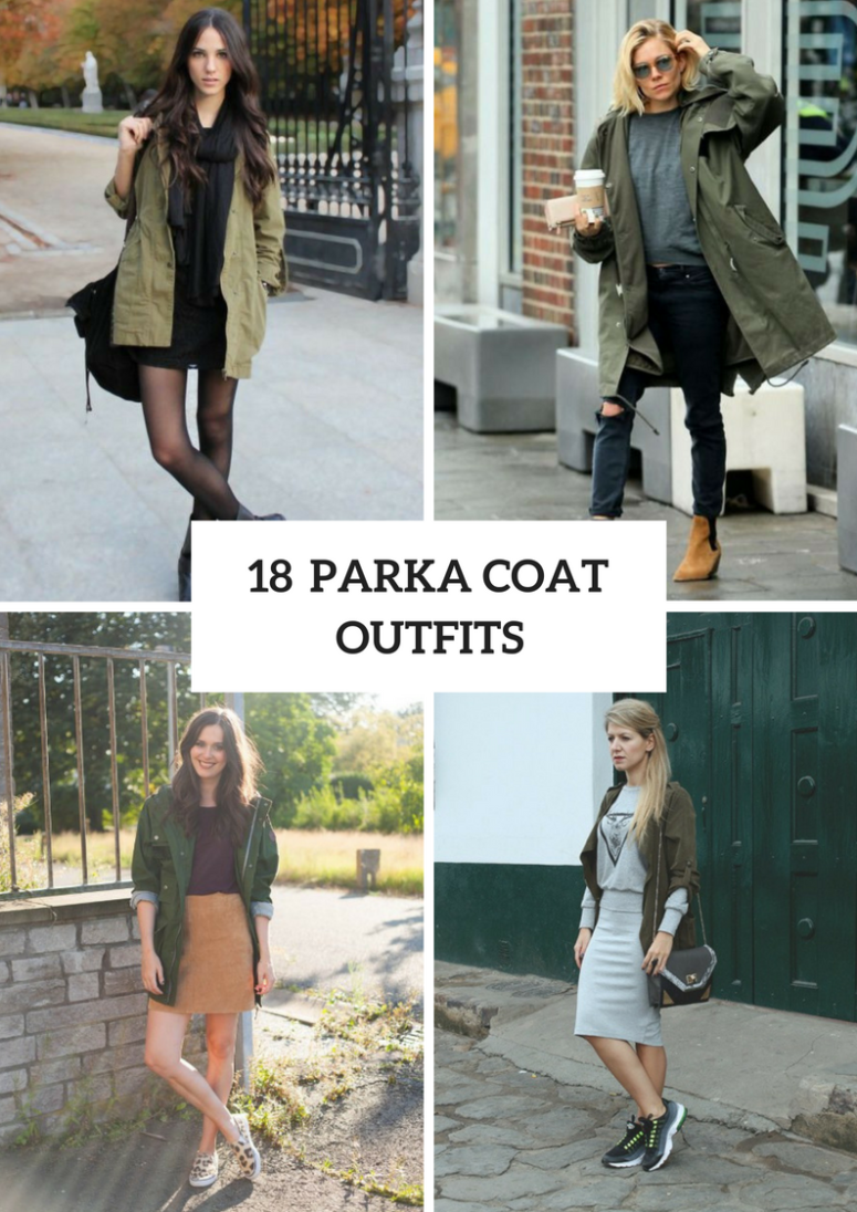 18 Women Outfits With Parka Coats