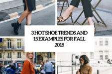 3 hot shoe trends and 15 examples for fall 2018 cover