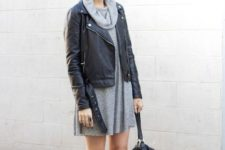 lace up flats fall outfit