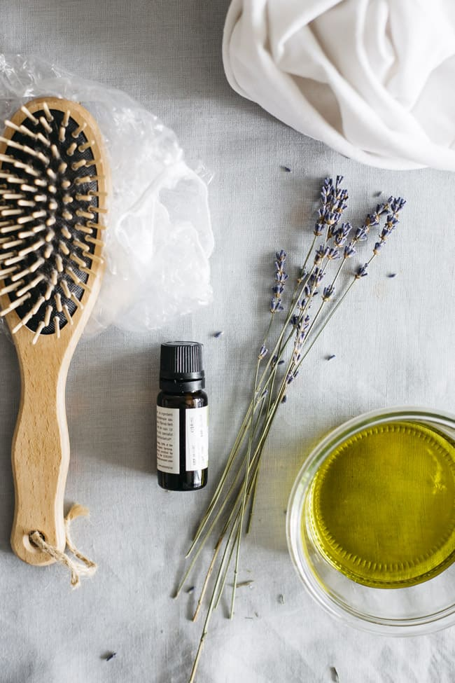 DIY deep conditioning treatment with oils