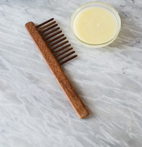 DIY deep hair conditioning with argan oil (via www.styleoholic.com)