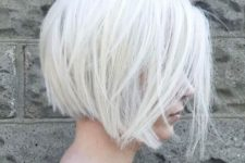 02 such a layered silver white bob is a trendy and edgy idea to rock