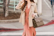 wrap dress that you can wear at fall