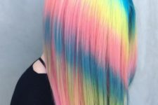 04 if you hair is very straight, you may go for such a bold ombre dying and stand out with it