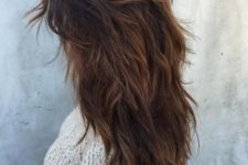 07 a long layered and super shaggy haircut for a wild and boho-inspired look