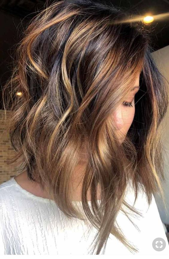 rock not only layers but also balayage with some soft shades like here to achieve more dimension