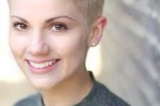 10 a very short pixie haircut on blonde is a very refreshing idea for any girl