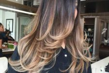 14 a long layered haircut with ombre to highlight the locks and layers even more