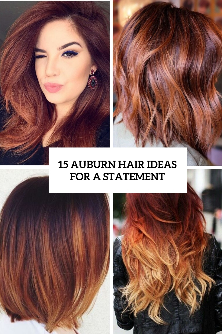 15 Auburn Hair Ideas For A Statement Styleoholic