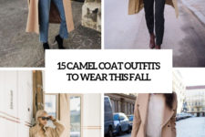 15 camel coat outfits to wear this fall cover