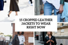 15 cropped leather jackets to wear right now cover
