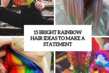 15 rainbow hair ideas to make a statement cover