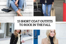 15 short coat outfits to rock in the fall cover