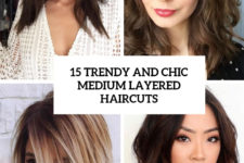 15 trendy and chic medium layered haircuts cover