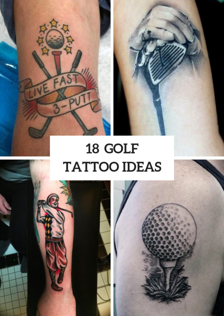 Awesome Golf Tattoo Ideas For Guys