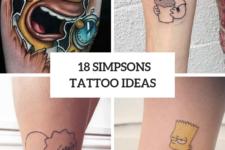 18 Cool Simpsons Tattoo Ideas