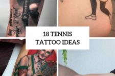 18 Cool Tennis Tattoo Ideas