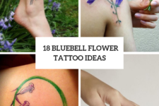 18 Cute Bluebell Tattoo Ideas For Ladies