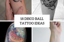 18 Disco Ball Tattoo Ideas To Repeat