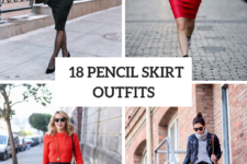 18 Fall Outfits With Pencil Skirts