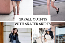 18 Outfits With Skater Skirts For This Fall