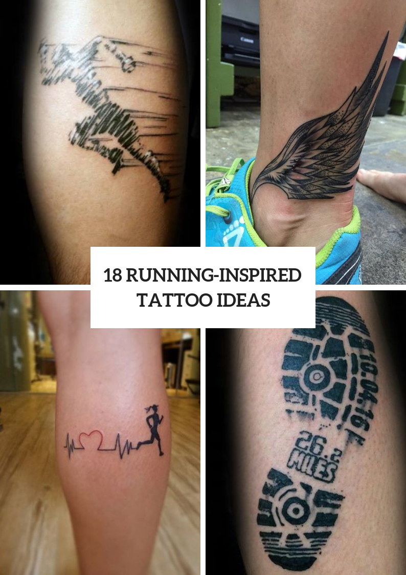 Running Inspired Tattoos To Try