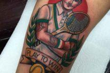Play to win tattoo idea