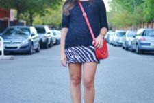 stylish early fall look with suede boots