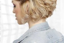 04 a short textural bob with a side twisted braid for a free-spirited and 90s inspired look