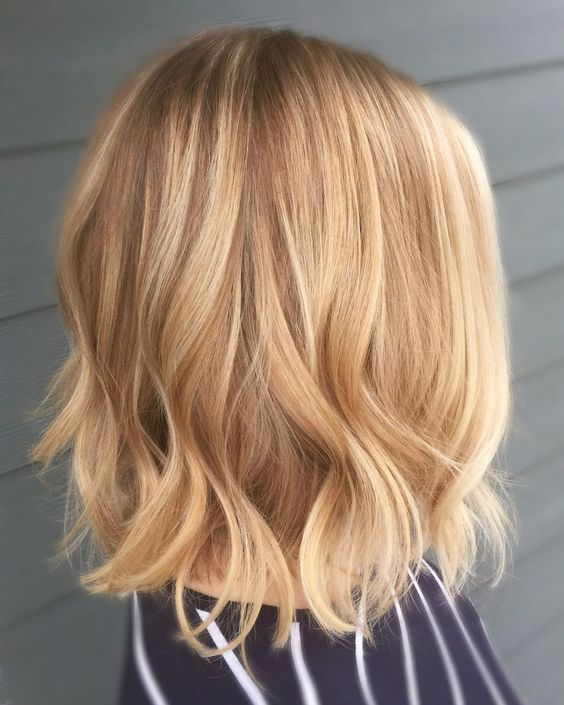 gold blonde never goes out of style, it's classics that always works especially for those love warmer shades