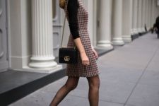 06 such a tweed sheath dress will instantly make you look much older than you are