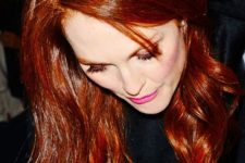 09 Julianne Moore always shows off a perfect deep red hair tone and look how beautiful it is